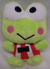"Sanrio Hello Kitty KEROPPI THE FROG 4"" Plush STUFFED ANIMAL Toy"
