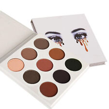 9 Couleur Kit Maquillage Eyes Shadow Shimmer Matte Cosmetic Eyeshadow Palette AH