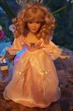 """Heritage Signature Collection Porcelain Doll, """"Butterfly Princess"""" Doll of 2000"""