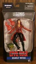 Marvel legends Scarlet Witch figure Captain America Civil War Abomination BAF