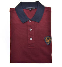 100% authentic Gucci Crest Logo Polo Shirt Size M retail $490