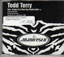 (BF155) Todd Terry, Ready For A New Day - DJ CD