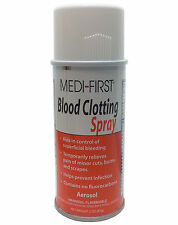 Blood Clotting Spray Medi-First First Quick Clot Wound Treatment  FREE SHIP WYB4