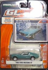 Green Light GLMuscle *Series 12* 1968 Ford Mustang GT Tahoe Turquoise