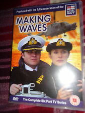 2 DVD MAKING WAVES THE COMPLETE 6 Part Royal Navy TV SERIES HMS Suffolk Military