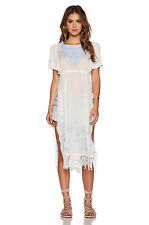 FREE PEOPLE LADIES IVORY SUGAR BRUNCH EMBROIDERY TUNIC DRESS  BNWT M 12 RRP £140