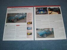 1973 Ferrari 246 GT Dino Barn Find Article -----From 2014---