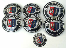 Complete Alpina Badge And Wheel Centre Caps Set For BMW 1 3 5 7  Z3 Z4 X3