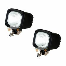 2pcs 55w 12v flood Xenon HID Work Light for ATV SUV Truck Fog Project Boat 4wd L
