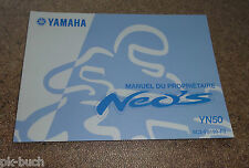Manuel Du Proprietaire Yamaha YN 50 Roller Neos Stand 03/2007