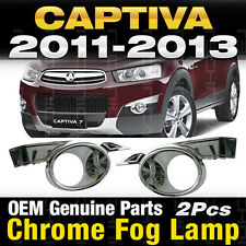 OEM Genuine Parts Chrome Fog Lamp Garnish Molding For Chevy 2011-2013 Captiva