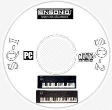 Ensoniq SQ1 SQ2 SQR Sound, Patch Library, Editors & MIDI Software CD  - SQ 1 2