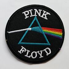 Iron On Embroidered Pink Floyd  Applique for Hat Jacket T-Shirt DIY