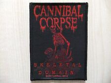 Aufnäher - Patch - Cannibal Corpse - A Skeletal Domain - Dying Fetus - Unleashed