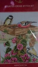 Anchor The Bird Table Counted Cross Stitch Kit PCE743