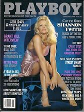 Playboy Magazine January 1998 Shannon Tweed - cover / excellent condition