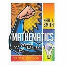 Mathematics: Its Power and Utility, Smith, Karl J., Acceptable Book