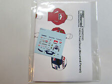 1/43 A.Prost Figure Decal for Tameo/Denizen/McLaren/Ferrari/Minichamps