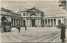 Primi '900 Genova Stazione Principe Vecchio Tram Strade Ferrate FP B/N ANIM