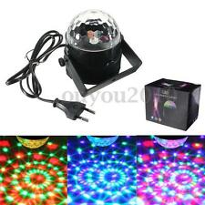 Kingso 25W=5W RGB LED Laser Lampe Stage Boule Cristal DJ Disco Party Fête Noël