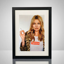 Supreme x Kate Moss 11x17 Poster Print Photograph Box Logo Bathing Ape Bape Art
