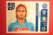 PANINI CHAMPIONS LEAGUE 2011/12 N 66 DONADEL NAPOLI WITH BLACK BACK MINT!!