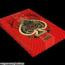 Karnival 1984 Black Deck Bicycle Playing Cards Poker Size USPCC Limited Edition