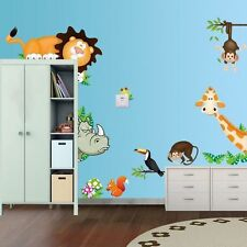 Monkey Animals Removable Wall Decal Stickers For Baby Nursery Room Decor Kids1