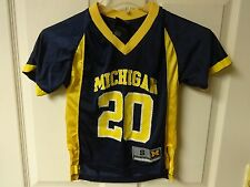 Vintage Michigan Wolverines #20 Football Jersey Youth Small (4) by Genuine Stuff