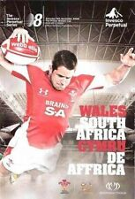 WALES v SOUTH AFRICA 2008 RUGBY PROGRAMME