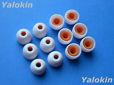 12pcs Small White Hybrid Replacement  Eartips buds for Sony XBA, MDR, DR Series
