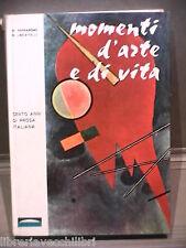 MOMENTI D ARTE E DI VITA Cento anni di prosa italiana Nico Ferrarone Locatelli L