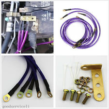 Practical 5-Point Car Fuel Saver Grounding Earth Cable Wire System Kit For Honda