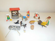 Playmobil medieval set 3487 100% complete includes figures from 3330