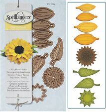 SPELLBINDERS SHAPEABILITIES CUTTING DIE D-LITES CREATE A SUNFLOWER UNIVERSAL FIT