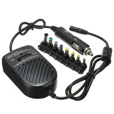 Universal DC 80W Car Auto Charger Power Supply Adapter For PC Laptop Notebook