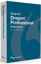 Nuance Dragon Professional Individual 14 - Brand New Retail Box, K809A-G00-14.0