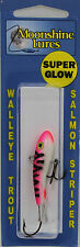 """MOONSHINE LURES SHIVER MINNOW SIZE #1 2-1/4"""" 3/8 oz - CRAB CAKES"""