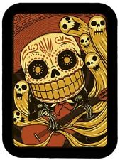 LEATHER DAY OF THE DEAD SKULL MARIACHI MOTORCYCLE JACKET VEST BIKER PATCH