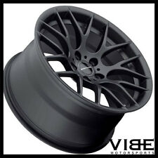 "18"" AVANT GARDE M359 BLACK WHEELS RIMS FITS BMW E90 325 328 330 335 SEDAN"
