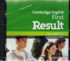 Oxford OUP CAMBRIDGE ENGLISH FIRST FCE RESULT Class Audio CDs 2014 Edittion @NEW