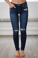 SOLD OUT NEW KANCAN DARK DISTRESSED SKINNY JEANS FROM CLOSET CANDY BOUTIQUE 5 26