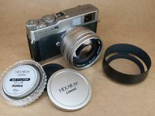 Konica Hexar RF Limited Outfit inc 50mm f1.2 Hexagon - Leica M Mount - Boxed
