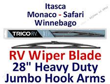 "Wiper Blade Itasca, Monaco, Safari, Winnebago RV Motorhome Wiper Hook 28"" 67284"