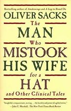 THE MAN WHO MISTOOK HIS WIFE FOR A HAT Other Clinical Tales Oliver Sacks book