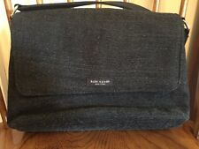 kate spade Herringbone Wool Structured Rectangular Medium Handbag Purse