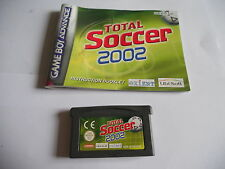 Total Soccer 2002 GAMEBOY  / ADVANCE / SP GBA GAME
