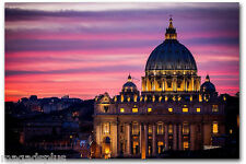 Rome Italy Vatican City Refrigerator  Magnet Gift Card Insert Man Cave Item