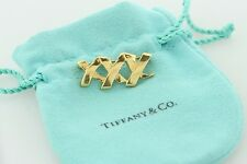 Tiffany & Co. Paloma Picasso 18K Yellow Gold Triple X Kisses Brooch Pin