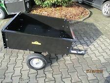 TROLLA  Anhänger-Kippbar, Rasenmäheranhänger, Kippanhänger, 225kg NEU